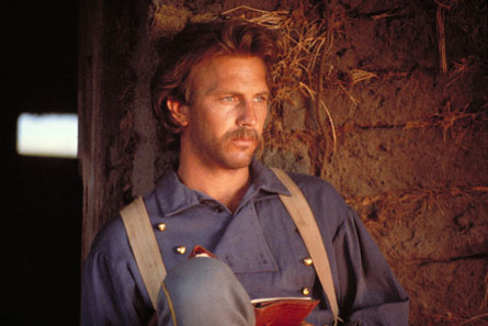 a movie review of dances with wolves starring kevin costner Overcoming negative publicity and mixed reviews that revisionist western directed by and starring kevin costner dances with wolves is an amazing film.