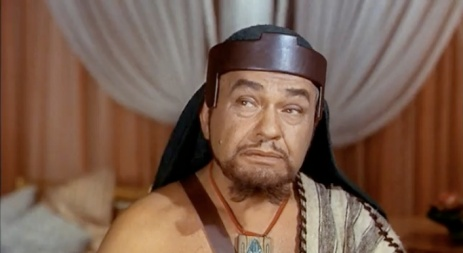 Edward G. Robinson as Dathan