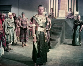 Jack Hawkins in Land of the Pharaohs