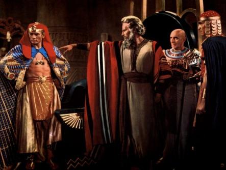 Pharaoh and Moses