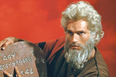 Moses & the Tablets