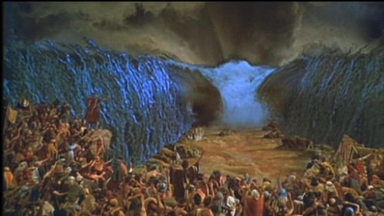 Parting of the Red Sea (Paramount Pictures)