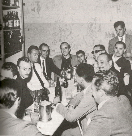 Vinicius (center) at Casa Villarino