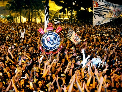 Corinthians celebrating 100 years of their club