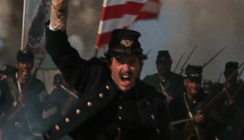 Matthew Broderick as Col. Robert Gould Shaw in Glory
