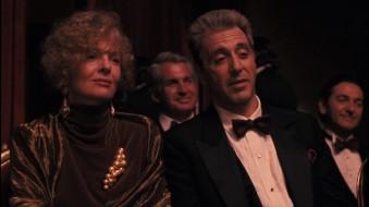 Diane Keaton, George Hamilton & Al Pacino in The Godfather: Part III