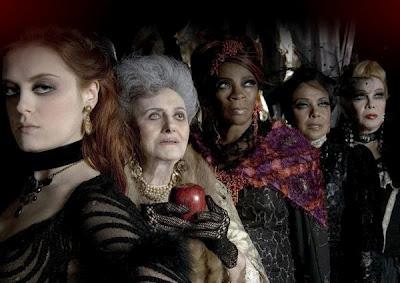 The Women of 7 - The Musical: Maestrini, Gomes, Zeze Motta, Eliana Pittman, Rogeria)