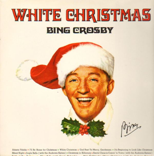 301 moved permanently for Who wrote the song white christmas