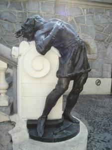 Statue of Condor at Praca Ramos de Azevedo, Sao Paulo (Antonio de Andrade)