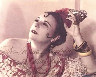 Gabriella Besanzoni as Carmen (operasiempre.es)