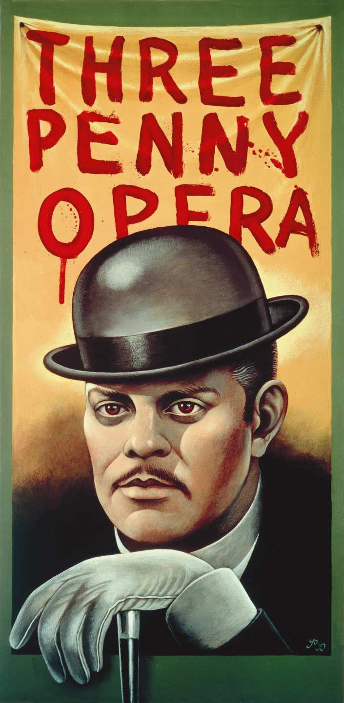 Threepenny Opera Poster Art