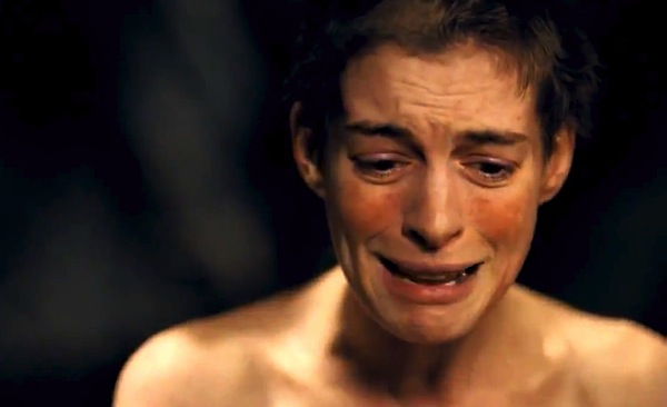 Anne Hathaway as Fantine (wegotthiscovered.com)