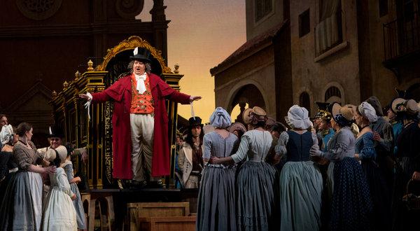 Ambrogio Maestri as Dulcamara in L'Elisir d'Amore (Sara Krulwich)