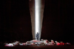 Parsifal: End of Act II (Ken Howard / Met Opera)