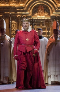Ferruccio Furlanetto as King Philip II (Ken Howard / Met Opera)