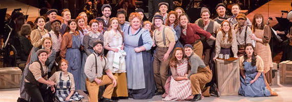 Cast of Carousel at Lincoln Center