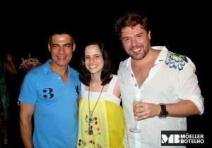Claudio Botelho, Tina Salles & Charles Moeller (Photo: Leo Ladeira)