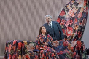 Damrau & Domingo in La Traviata (Ken Howard / Met Opera)