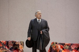Placido Domingo as Germont (AP Photo/Ken Howard, Met Opera)