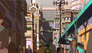 Futuristic city of Metropolis