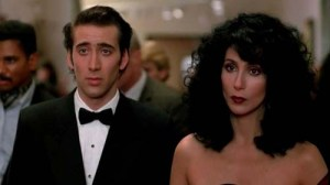 Nicolas Cage & Cher at the opera in Moonstruck