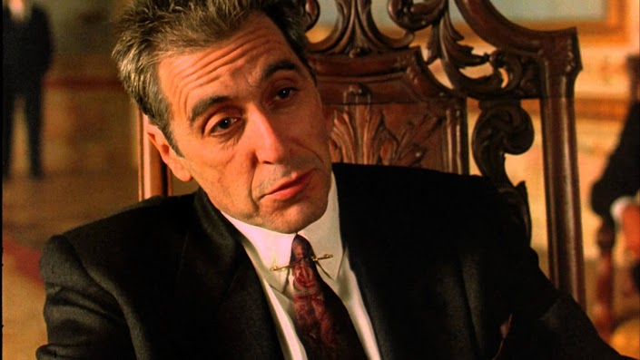 Pacino as Michael Corleone in The Godfather Part III (play.google.com
