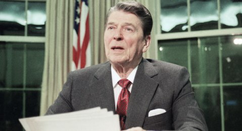 President Ronald Reagan (AP Photo)