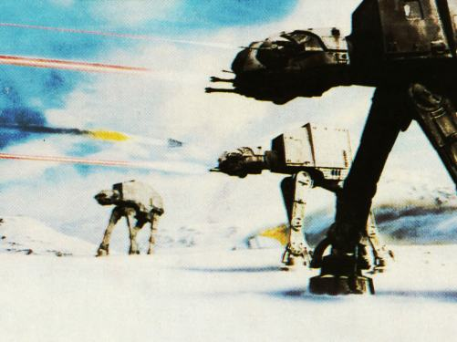 Imperial Walkers (The Empire Strikes Back)