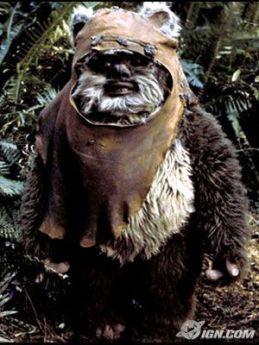 Wicket, one of the Ewoks (Return of the Jedi)