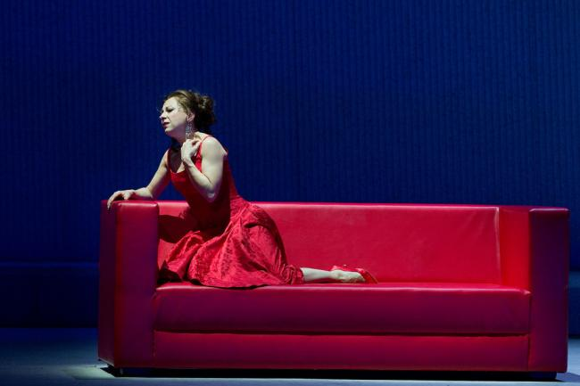 Natalie Dessay as Violetta (Ken Howard / NY Times)