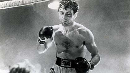 Robert De Niro as Jake La Motta in Raging Bull