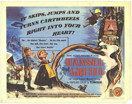 Hansel and Gretel movie poster