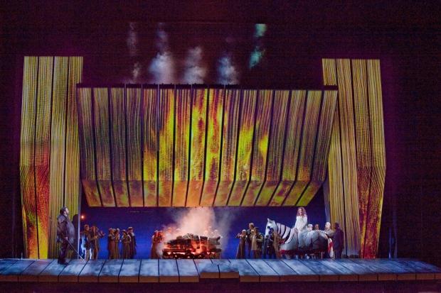 Immolation Scene from Act 3 (Ken Howard / Met Opera)