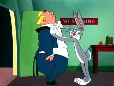 Bugs Bunny and Giovanni Jones
