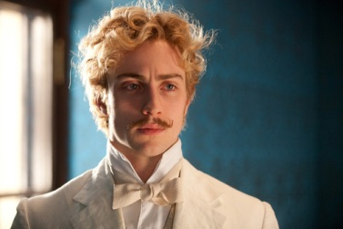 Aaron Taylor-Johnson as Vronsky (wehearit.com)