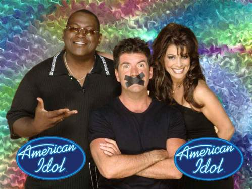Randy Jackson, Simon Cowell & Paula Abdul