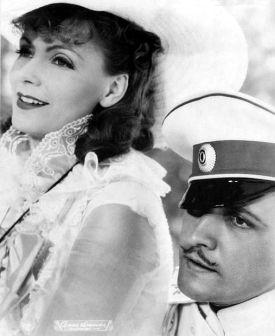 Garbo & Fredric March in Anna Karenina