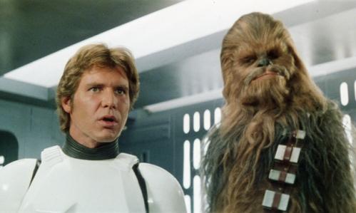 Han Solo & Chewbacca (glamorama.cl)