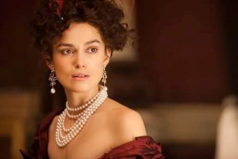 Keira Knightley as Anna Karenina (moviehole.net)