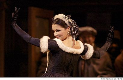Anna Netrebko as Musetta