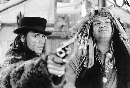 Depp & Gary Farmer in Dead Man (tvtropes.org)