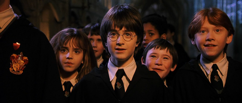 Emma Watson, Daniel Radcliffe, Rupert Grint in Harry Potter and the Sorcerer's Stone