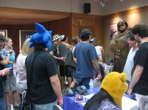Chewbacca (Ryan Ricks) - Librari-Con 2011