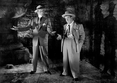 Bud & Lou in Dracula's cellar