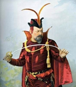 Edouard de Reszke in Gounod's Faust (voice.talk.net)