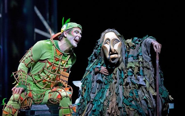 Julie Taymor's The Magic Flute (Cory Weaver / Met Opera)