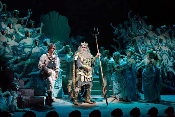 Danielle de Niesse & Placido Domingo in The Enchanted Island (Met Opera)