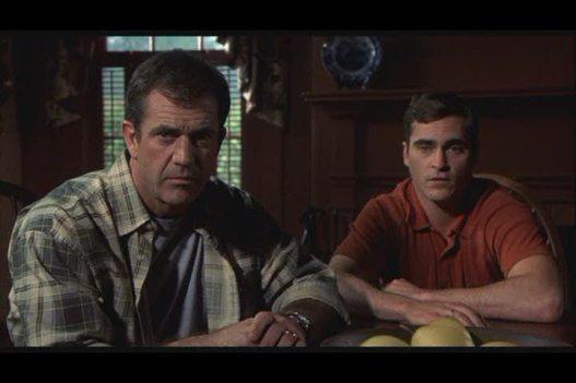 Mel Gibson & Joaquin Phoenix in Signs