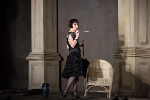 Natalie Dessay as Cleopatra (Met Opera)