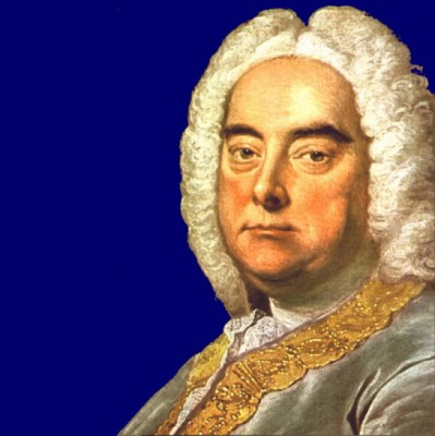 George Frideric Handel, portrait by Thomas Hudson, 1756
